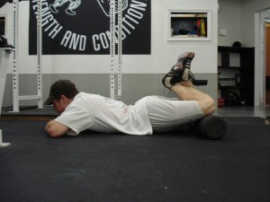Positional Release for the hamstrings.