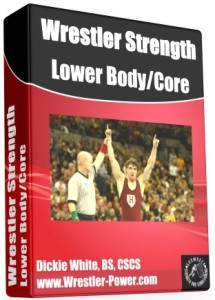 Weight Training For Wrestling Plan - this image of an eBook features a picture of Harvard wrestler, JP O'Connor, after he won the NCAA wrestling championship